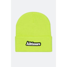 Alltimers Broadway Rubber Beanie - Neon Green