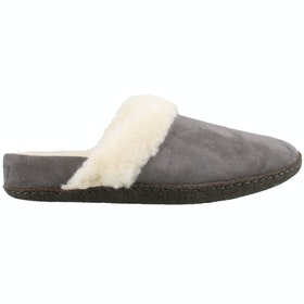 Sorel Nakiska Slide II Slippers - Quarry Natural