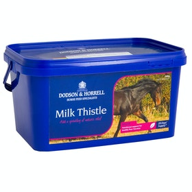Suplemento de salud Dodson and Horrell Milk Thistle 500g - Blue