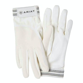 Ariat Tek Grip Gloves - White