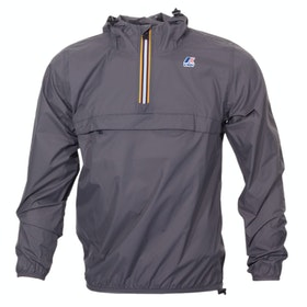 K-Way Le Vrai Leon 3.0 Waterproof Jacket - Smoke