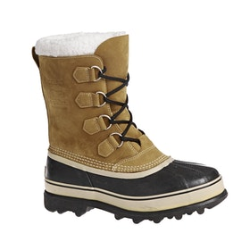 Sorel Caribou Faux Fur Boots - Buff