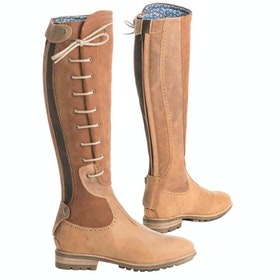 Country Boots Damski Tredstep Manor Wide Fit - Light Brown