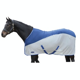 Weatherbeeta Micro-Air Standard Neck Cooler Rug - Blue Grey