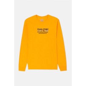 Pass-Port Inter Solid L S T-Shirt - Gold