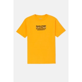 Pass-Port Inter Solid S S T-Shirt - Yellow
