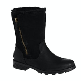 Sorel Emelie Foldover Ladies Boots - Black