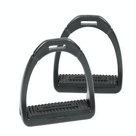 Shires Compositi Premium Profile Stirrup Irons - Black