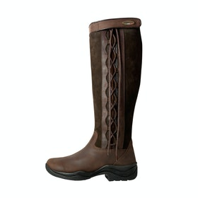 Brogini Winchester Tall Lace-Up Country Boots - Brown