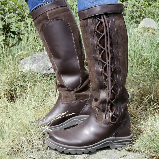 Brogini Winchester Tall Lace-Up Country Boots