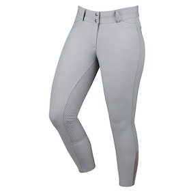 Dublin Lunar Gel Full Seat Ladies Riding Breeches - Grey