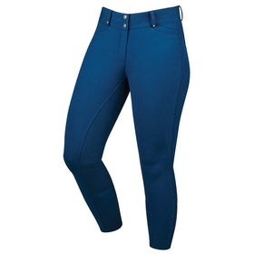 Dublin Lunar Gel Full Seat Ladies Riding Breeches - Navy
