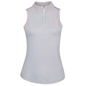 Dublin Sagitta Sleeveless Tech Ladies Top - Grey