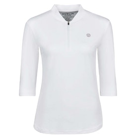 Dublin Sculptor 3/4 Event Ladies Top - White