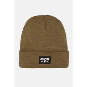 Theories Of Atlantis Moluch Acrylic Beanie - Brown
