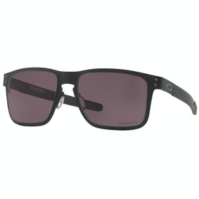 Oakley Holbrook Metal Sunglasses - Matte Black ~ Prizm Grey