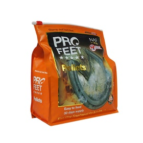 NAF Pro Feet Pellets 3kg Hoof Supplement - Brown