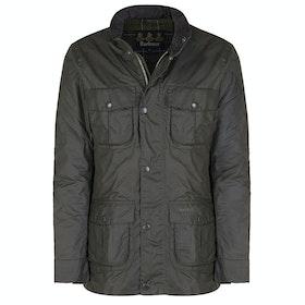 Barbour Corbridge Mens Wax Jacket - Olive