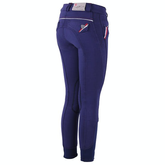 QHP Girls Flora Riding Breeches