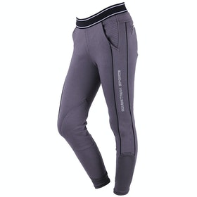 Riding Breeches QHP Meghan Pull On - Grey