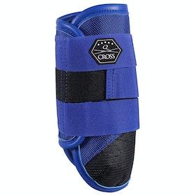 QHP Front Leg Technical Event Boots - Royal Blue