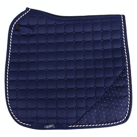 QHP Sparkle Saddlepads - Navy