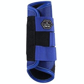 QHP Hind Leg Technical Event Boots - Royal Blue