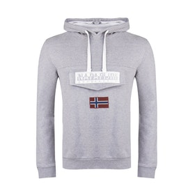 Napapijri Burgee 2 Fleece - Med Grey Mel