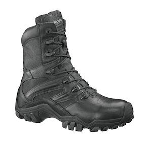 Bates Delta 8 Side Zip Boots - Black