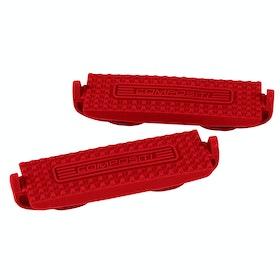Shires Compositi Premium Profile Stirrup Treads - Red