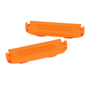 Shires Compositi Premium Profile Stirrup Treads - Orange