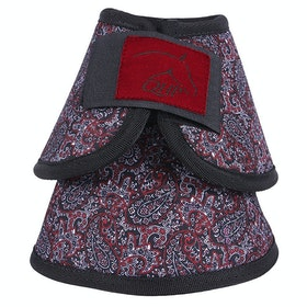 QHP Bell Over Reach Boots - Paisley
