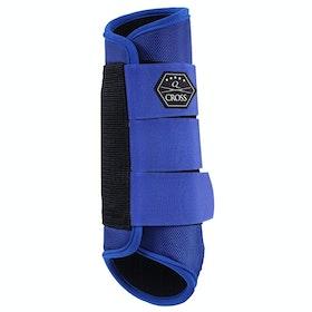 QHP Hind Leg Event Boots - Royal Blue
