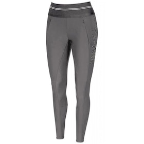 Pikeur Gia Grip Ladies Riding Breeches - Dark Shadow