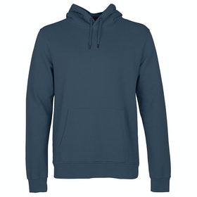 Colorful Standard Classic Organic Pullover Hoody - Petrol Blue