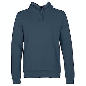 Jersey con capucha Colorful Standard Classic Organic - Petrol Blue