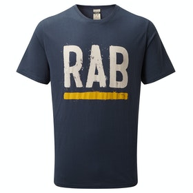 Rab Stance Paint T Shirt - Deep Ink