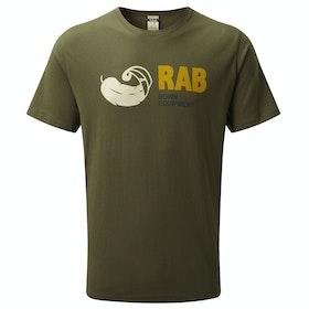 T-Shirt a Manica Corta Rab Stance Vintage - Army