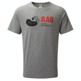 T-Shirt a Manica Corta Rab Stance Vintage - Grey Marl