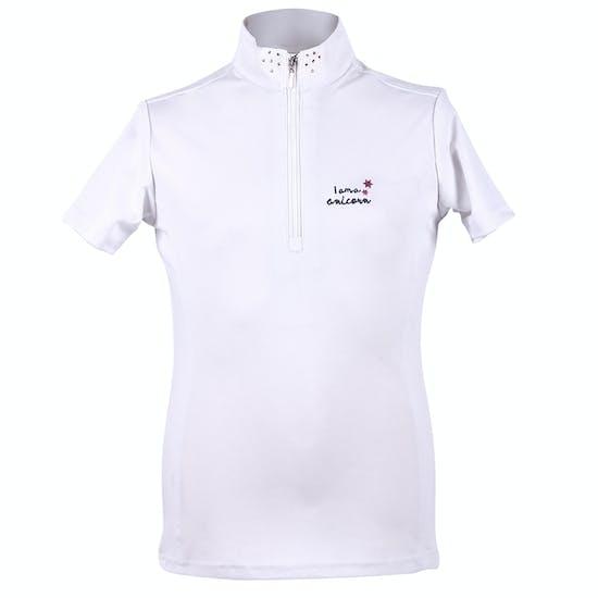 QHP Girls Milou Competition Shirt