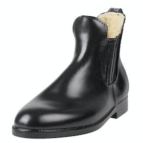 QHP Thermo Ladies Jodhpur Boots - Black