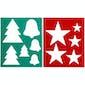 QHP Brush Pattern Christmas Grooming Set