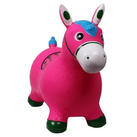 QHP Jumpy Horse Childrens Toy - Pink