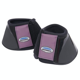 Weatherbeeta Impact Over Reach Boots - Black Purple Penant