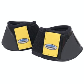 Weatherbeeta Impact Over Reach Boots - Black Mustard Yellow