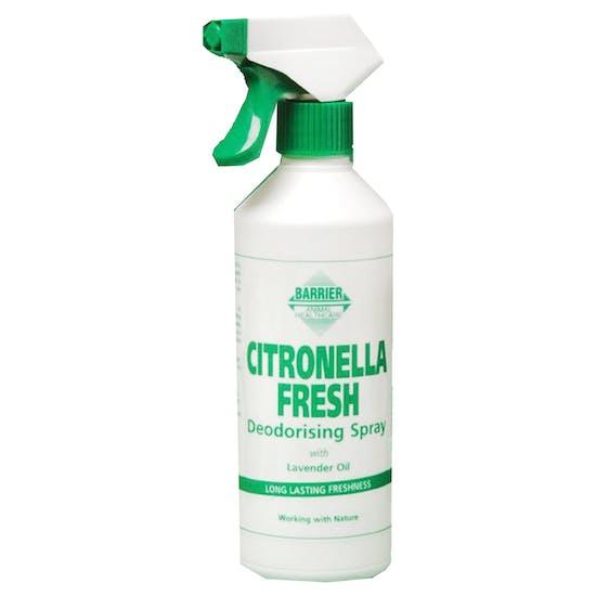 Barrier Citronella Fresh Deodorising Spray 500ml Staldrens
