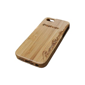 Northcore Adventure Wood iPhone 4 - 4S , Telefonetui - Bamboo Striped