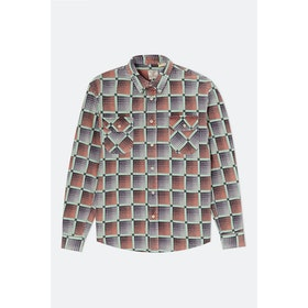 Levi's Vintage Shorthorn L S Shirt - Mint Green Print