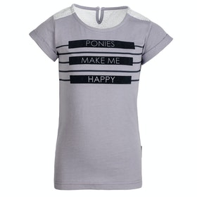 Horseware Novelty Kids Short Sleeve T-Shirt - Lavender