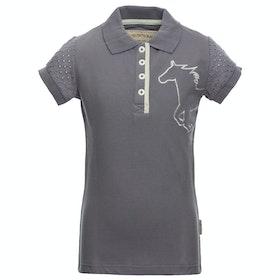 Horseware Pique Kids Polo Shirt - Lavender